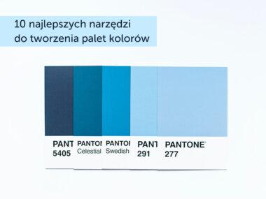 10 najlepszych narzędzi do tworzenia palet kolorów